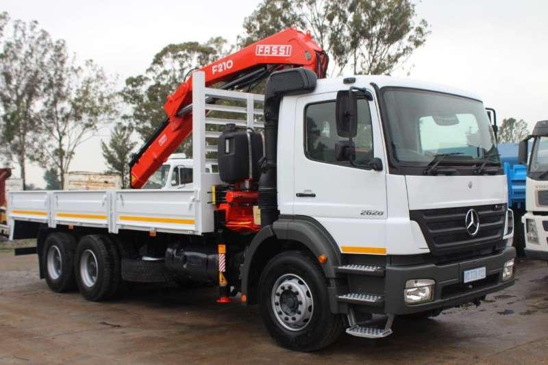 Mercedes Benz Truck Crane Truck Axor 2628 2008