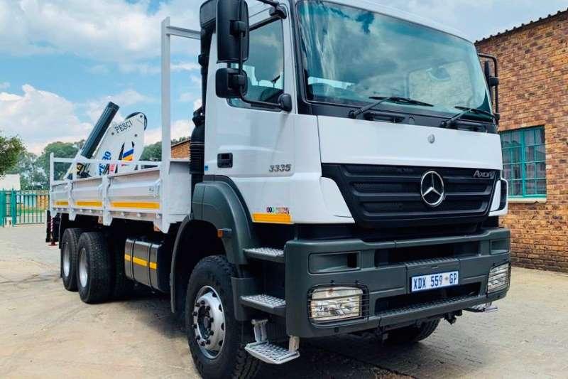 Mercedes Benz Truck Crane Truck Axor 3335 2008