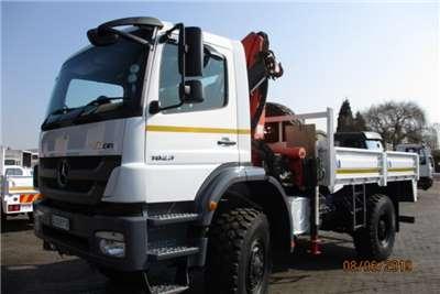 Mercedes Benz Truck Crane Truck MERC BENZ AXOR 1823 WITH PK12000 CRANE 2011