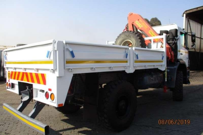 Mercedes Benz Crane truck MERC BENZ AXOR 1823 WITH PK12000 CRANE Truck