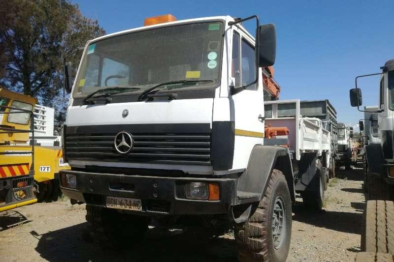 Mercedes Benz Truck Crane Truck Mercedes Benz 1617 4x4 /Palfinger Pk8080 Crane 1999