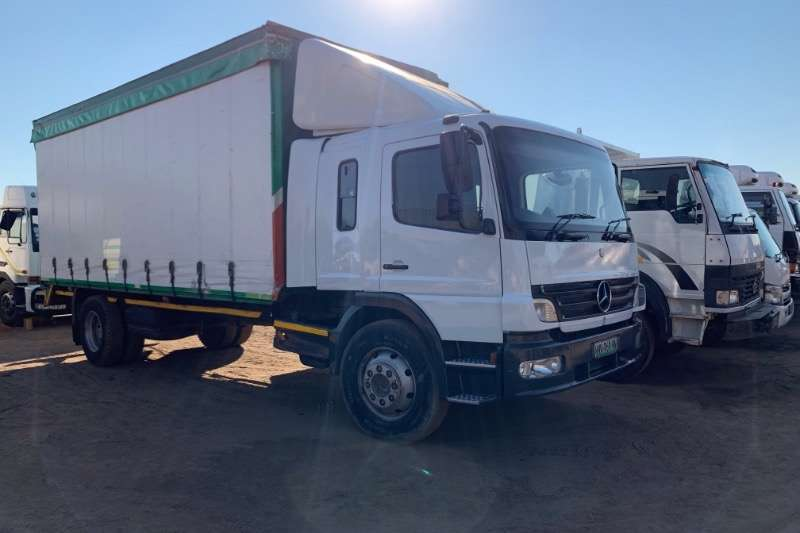 Mercedes Benz Truck Curtain Side ATEGO 1518 2011
