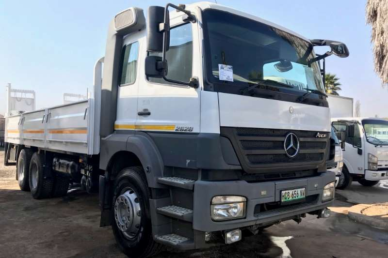 Mercedes Benz Truck Dropside Axor 2628 Dropside with Tail Lift 2008