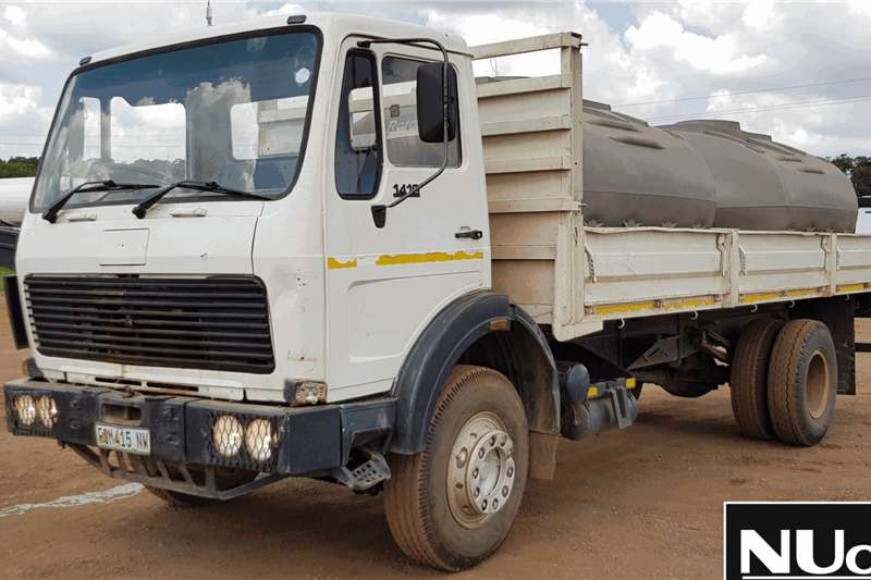 Mercedes Benz Truck Dropside MERCEDES BENZ 1419 DROPSIDE WITH WATER TANKS