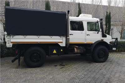 Mercedes Benz Dropside UNIMOG U4000 218 Hp LWB Truck