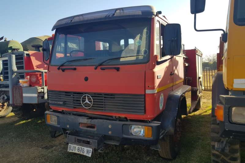 Mercedes Benz Truck Fire trucks Mercedes Benz 1417 Fire Truck