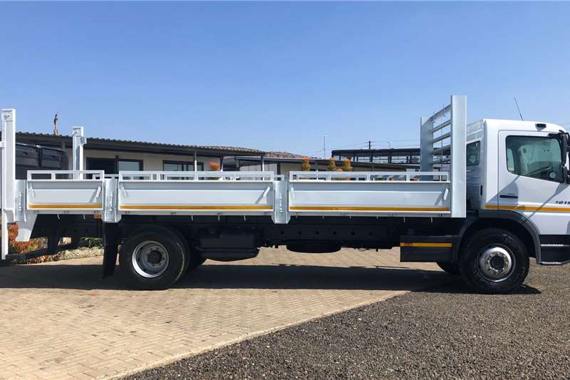 Mercedes Benz fitted with Dropside and Taillift Truck