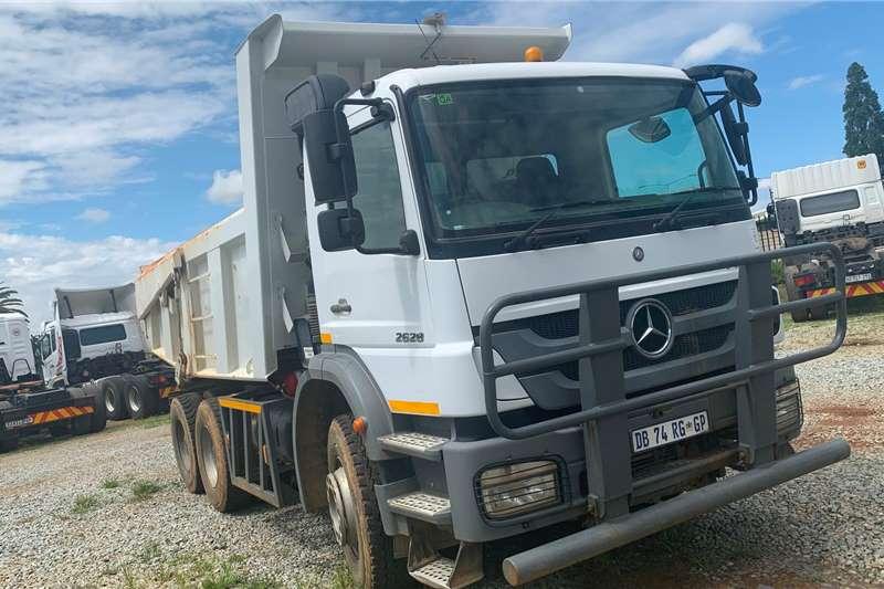 Mercedes Benz Truck MERCEDES BENZ AXOR 2628 10M3 TIPPER 2014