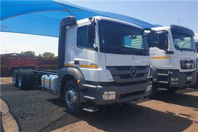 Mercedes Benz Truck Other Axor 2628 Rigid Chassis Cab 2015