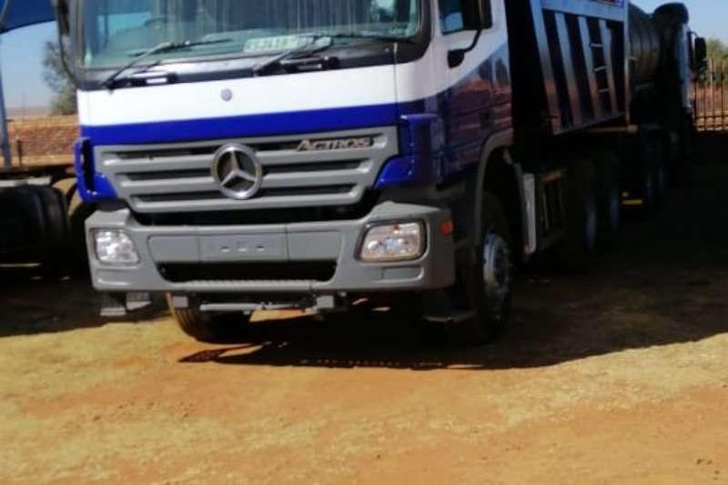 Mercedes Benz Truck Other mercedes 3331 10 cube tipper miller bin 2004
