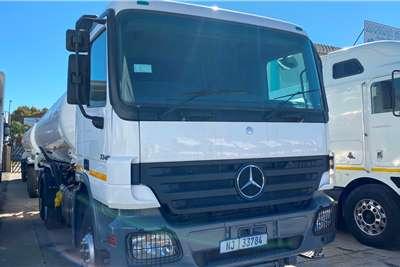 Mercedes Benz Price Drop On This 48 000L Fuel Tanker Truck