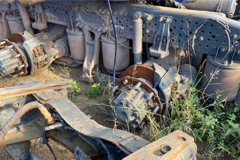 Mercedes Benz ACTROS MP4 BOGIE STRIPPING FOR PARTS Truck spares and parts
