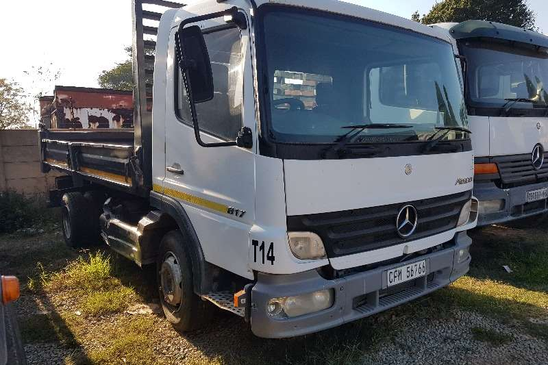 Mercedes Benz Truck Tipper 2008 Mercedes Benz 817 4m3 Tipper 2008
