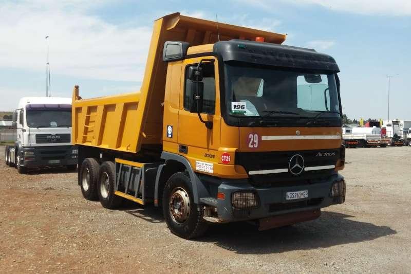 Mercedes Benz Truck Tipper Actros 3331 10m Tipper 2007