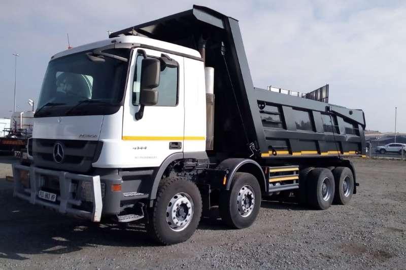 Mercedes Benz Truck Tipper Actros 4144 8x4 18m3 Tipper 2012