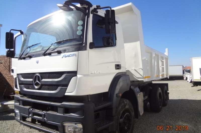 Mercedes Benz Truck Tipper Axor 10cm Tipper 2010