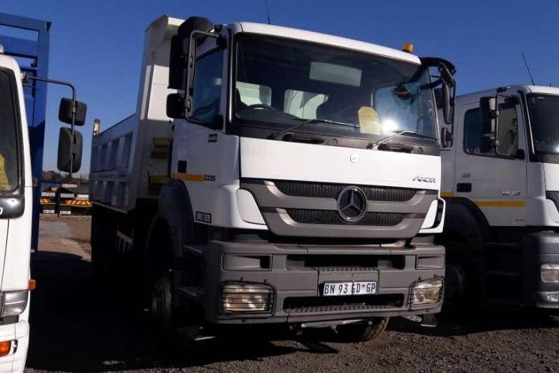 Mercedes Benz Truck Tipper Axor 3335 10m3 Tipper 2011