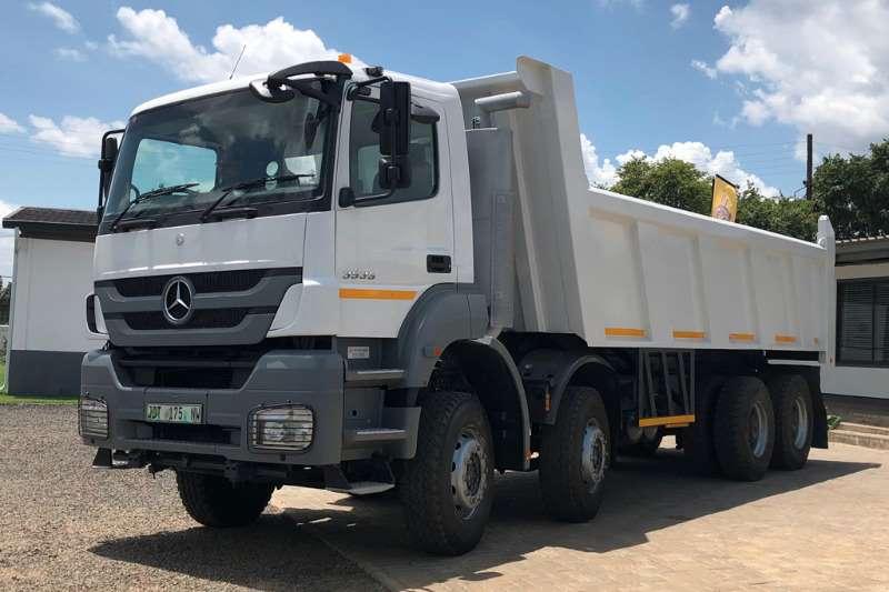 Mercedes Benz Truck Tipper Axor 3535 8x4 Tipper 2014