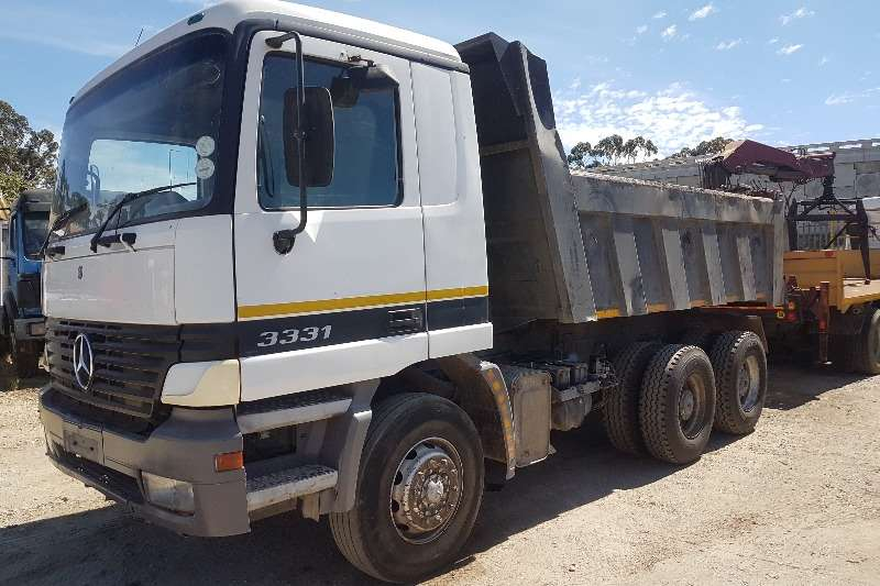 Mercedes Benz Truck Tipper Mercedes Actros 3331 Tipper 2002