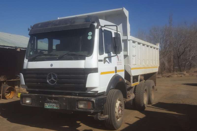 Mercedes Benz Truck Tipper Mercedes Benz 2635 Powerliner 10m3 Tipper 1991