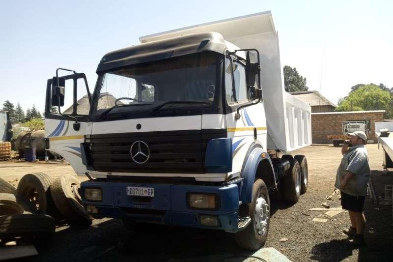 Mercedes Benz Truck Tipper Powerliner 2545 10 cube tipper 1996