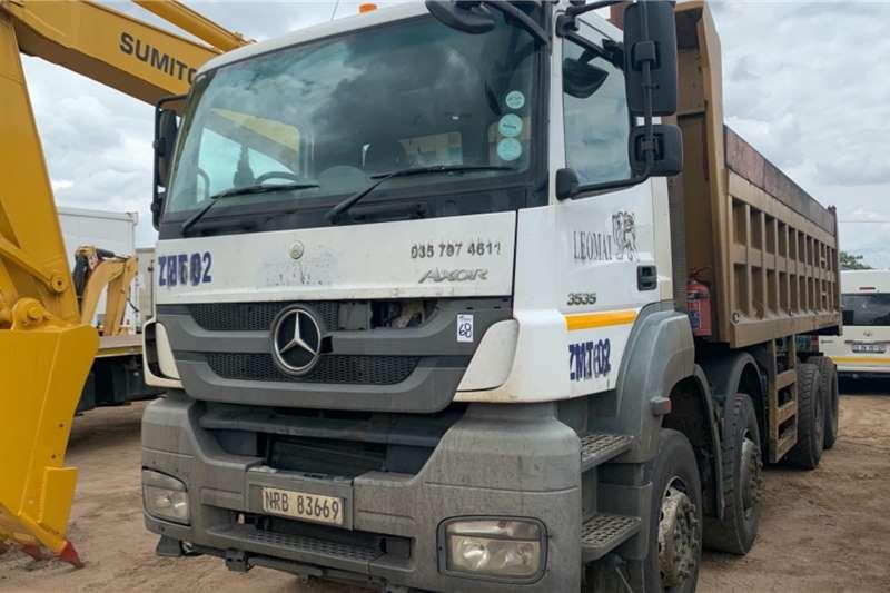 Mercedes Benz Truck Tipping body AXOR 3535 20 CUBE TIPPER