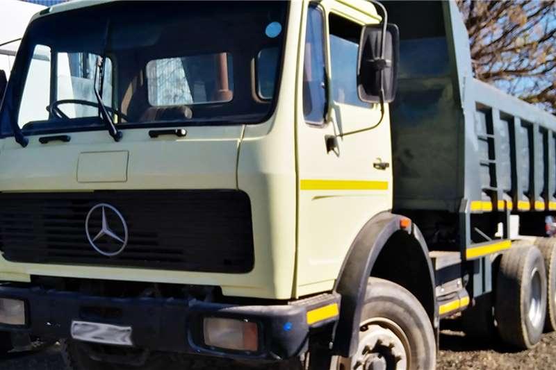 Mercedes Benz Truck Tipping body MERCEDES BENZ 2421 10 CUBE TIPPER 2003