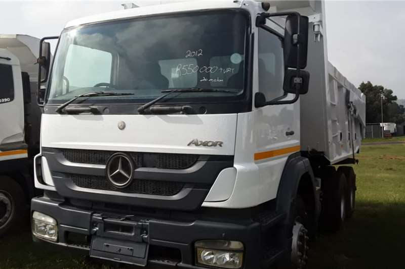 Mercedes Benz Truck Tipping body Mercedes Benz Axor tipper 2012