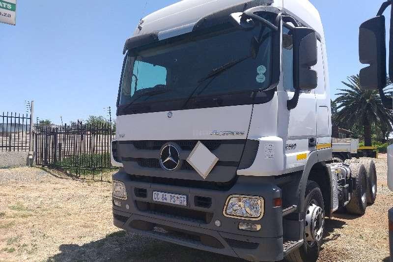 Mercedes Benz Truck-Tractor Double axle 2012 Mercedes Benz Actros 2650 2012
