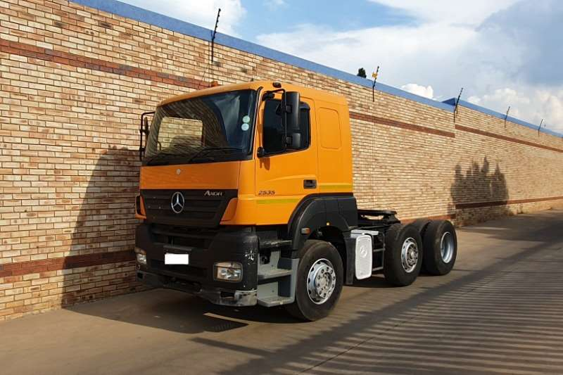 Mercedes Benz Truck-Tractor Double axle 2535 AXOR,6x2 TRUCK TRACTOR CHOICE OF 4 2008