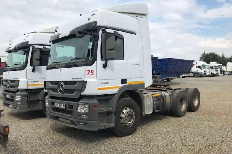 Mercedes Benz Truck-Tractor Double axle Actros 2646 6x4 T/T 2018