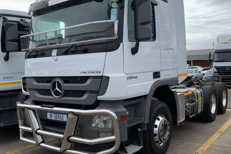Mercedes Benz Truck-Tractor Double Axle Actros 2646 MP3 2018