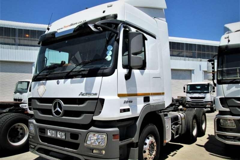 Mercedes Benz Truck-Tractor Double axle Actros 2646LS/33