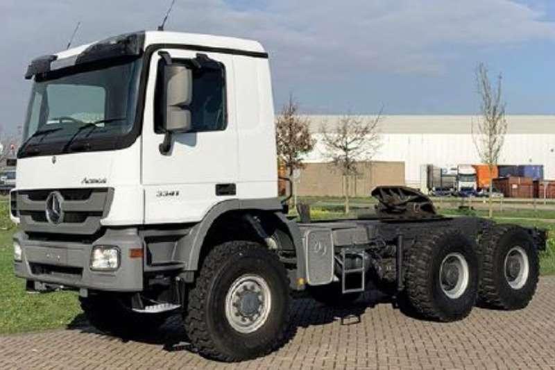 Mercedes Benz Truck-Tractor Double axle ACTROS 3341 AS 6X6 EURO 3 2012