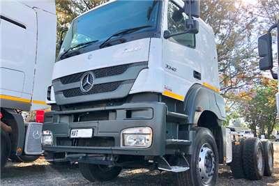 Mercedes Benz Double axle MERCEDES BENZ 3340 AXOR TT 6X4 Truck-Tractor