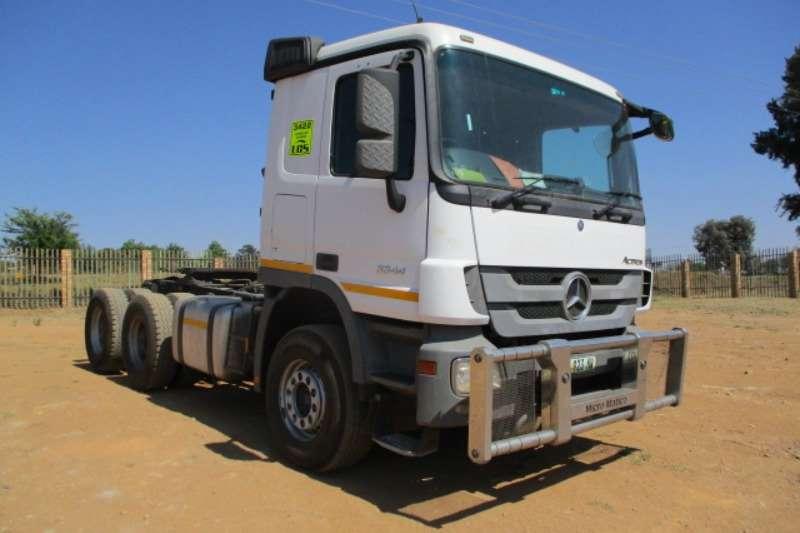 Mercedes Benz Truck-Tractor Double axle MERCEDES BENZ ACTROS 3344 6X4 MECHANICAL HORSE 2015