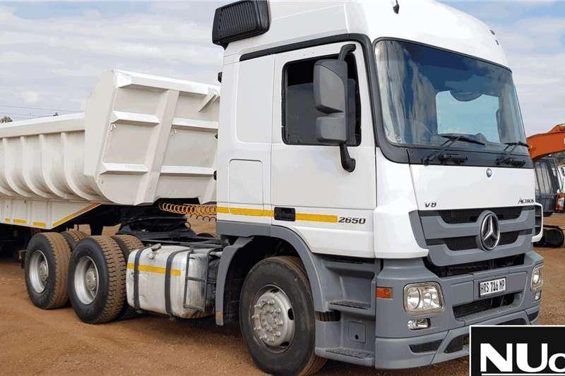 Mercedes Benz Truck-Tractor MERCEDES BENZ ACTROS 2650 6X4 HORSE