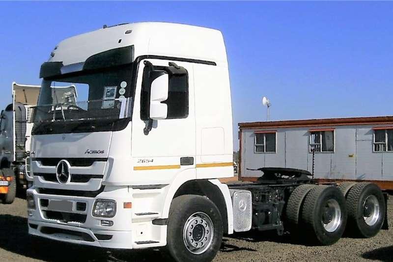 Mercedes Benz Truck-Tractor MERCEDES BENZ ACTROS 2654 2011