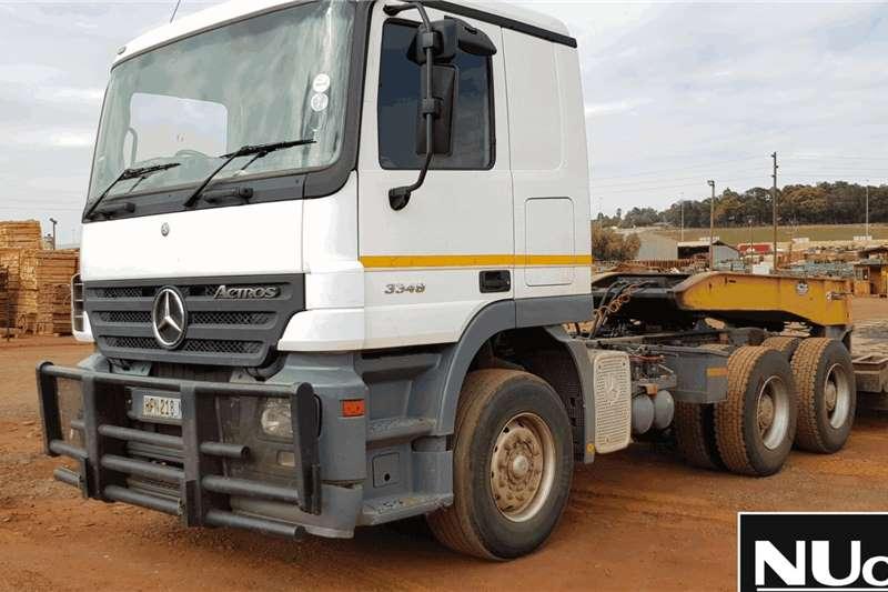 Mercedes Benz Truck-Tractor MERCEDES BENZ ACTROS 3348 6X4 HORSE