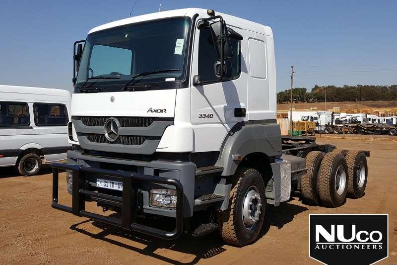 Mercedes Benz Truck-Tractor MERCEDES BENZ AXOR 3340 6X4 HORSE 2010