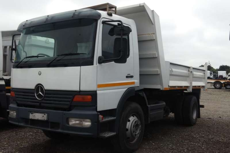 Mercedes Benz Truck-Tractor Single axle Atego 1517 6m3 Tipper   New Body   Dropsides 2004