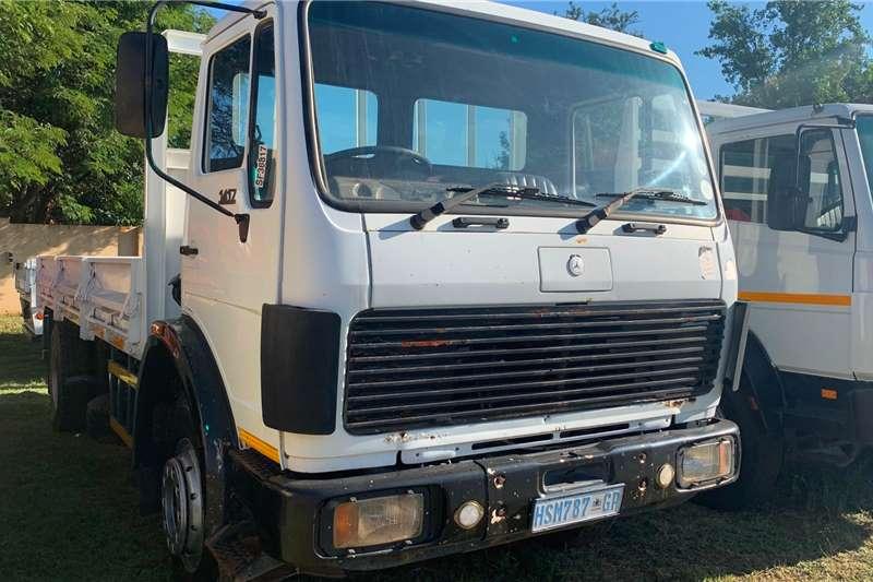 Mercedes Benz Truck tractors 1987 MERCEDES BENZ 1417 DROPSIDE 1987