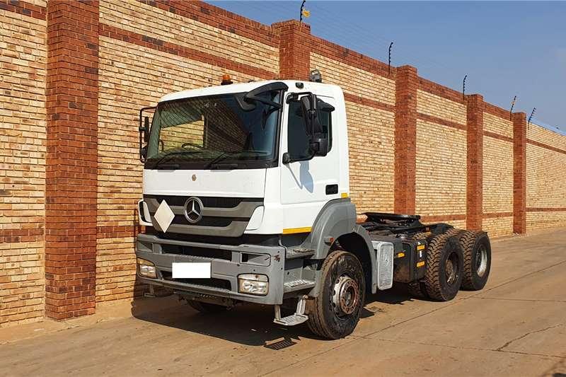 Mercedes Benz AXOR 3335 MP3,6x4 TRUCK TRACTOR,DAY CAB Truck tractors