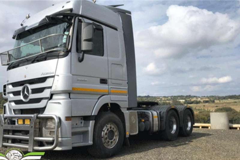 Mercedes Benz Truck tractors Double axle 2012 Mercedes Benz Actros Mega Space 2658 2012