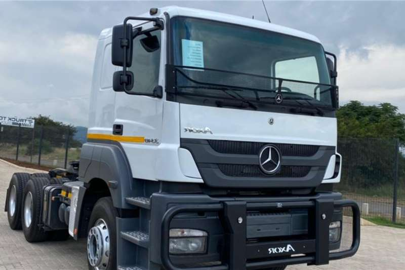 Mercedes Benz Double axle 2017 Mercedes Benz Axor 3340 Truck tractors