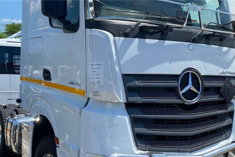 Mercedes Benz Double axle 2020 Mercedes Benz Actros 2645 LS33 Truck tractors