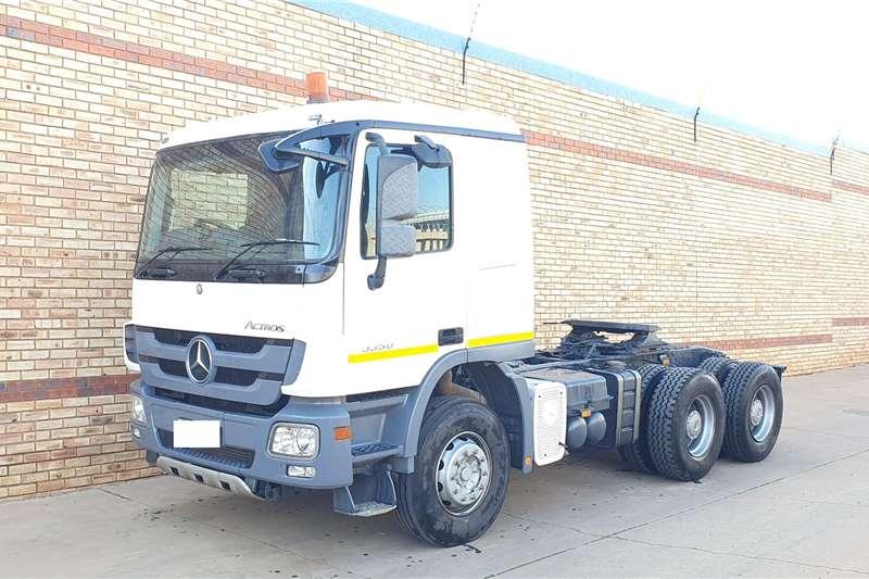 Mercedes Benz Truck tractors Double axle 3350 ACTROS MP3,6x4 TRUCK TRACTOR 2012