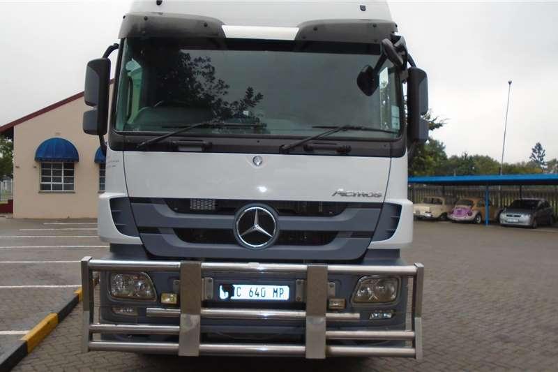 Mercedes Benz Truck tractors Double axle Actros 2646 2015
