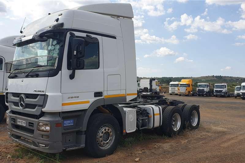 Mercedes Benz Truck tractors Double axle Actros 2646 2016