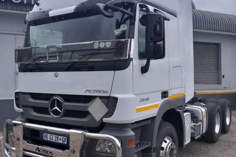 Mercedes Benz Truck tractors Double axle Actros 2646LS/33 2017